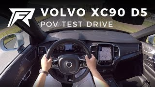 2018 Volvo XC90 D5 - POV Test Drive (no talking, pure driving)