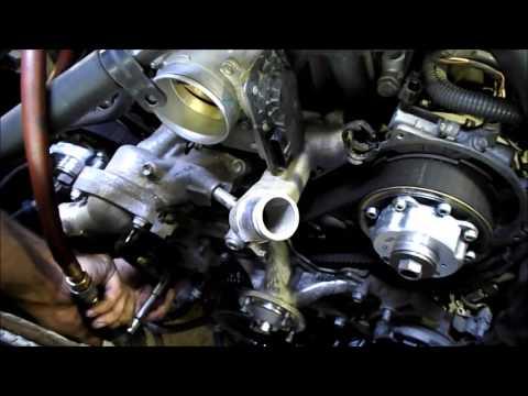 Timing Belt Replacement 2006 Toyota Tundra 4.7L 2UZ-FE V8
