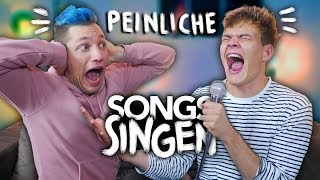 MEGA PEINLICHE SONGS SINGEN mit Rezo | Joey's Jungle
