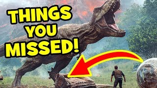JURASSIC WORLD FALLEN KINGDOM Trailer Breakdown: NEW DINOSAURS & Easter Eggs - Jurassic World 2