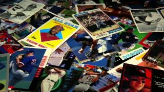 The rise and fall of baseball cards