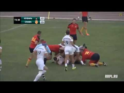 Best tries of Russian Rugby Championship 2016