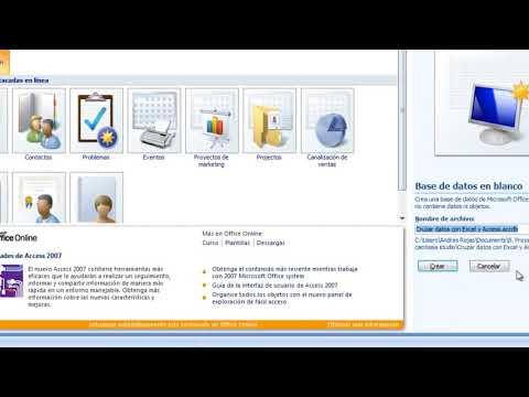 Cruzar datos con Excel y Access