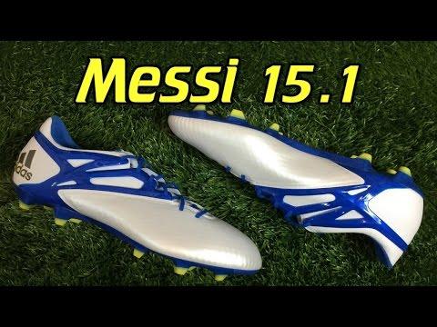 Adidas Messi 15.1 White/Prime Blue - Review + On Feet