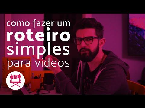 Como fazer um roteiro simples para vídeos // #DicaDoGambiacine 21 thumbnail