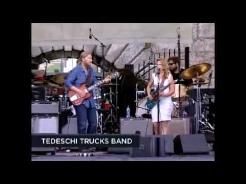 Tedeschi Trucks Band live 2012 Don't Let Me Slide Darling Be Home Soon Rollin' and Tumblin'