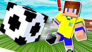 FIZ MEU PRIMEIRO GOL PELA SELEÇÃO NO MINECRAFT !! (Minecraft Football)