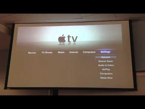 iPad and Apple TV AirPlay Tutorial