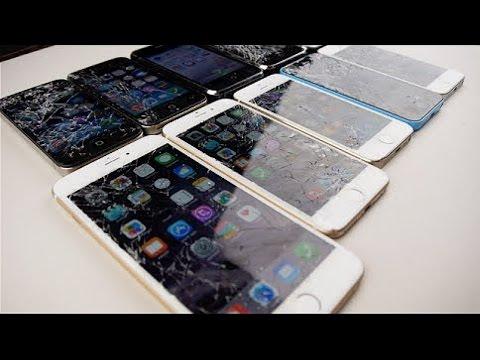 Краш-Тест ВСЕХ АЙФОНОВ!!! iPhone 6 Plus vs 6 vs 5S vs 5C vs 5 vs 4S vs 4 vs 3GS vs 3G vs 2G