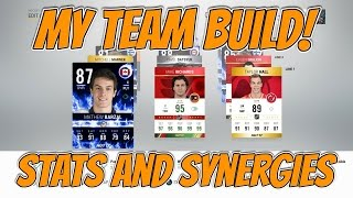 My Team UPDATE ! - Build, Synergies and Stats! - NHL 17