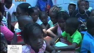 First Tzu Chi Temporary School In Haiti Established By Tzu Chi Volunteer Jean Denis Petit Pha