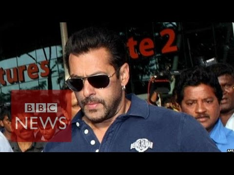 Salman Khan: Bollywood star jailed for 5 years in hit-and-run case - BBC News