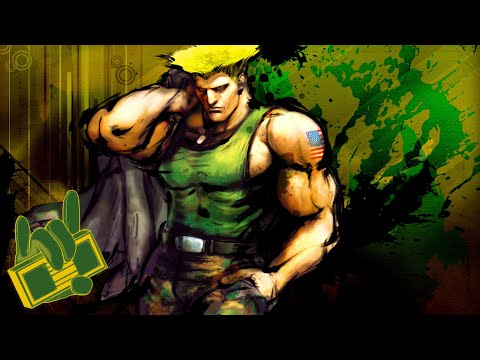SF 25th Anniversary  - Guile Theme (The Lonely Wolf) Rock Remix