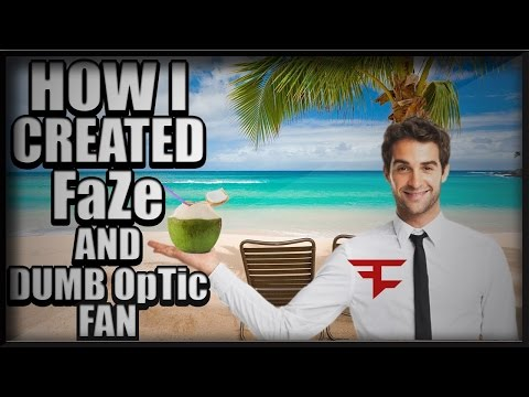 How I Created Faze World S Dumbest Optic Fan