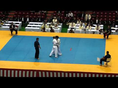 Lechi Kurbanov  vs Joao Rocha @ 10th World Open Kyokushin Karate Tournament Image 1