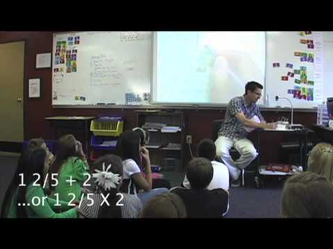 Common Core Math Lesson Day 2 with Tim Bedley