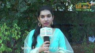 Adithi Krishna At Thangaratham Movie Team Interview