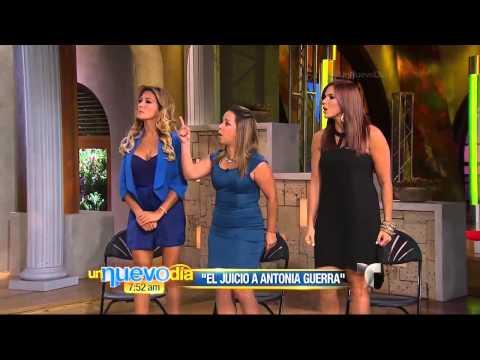 Christian Bach en un nuevo día - juicio a Antonia Guerra
