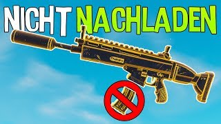 NICHT NACHLADEN CHALLENGE | Fortnite Battle Royale
