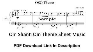 download lagu Om Shanti Om Theme Sheet - Pdf gratis