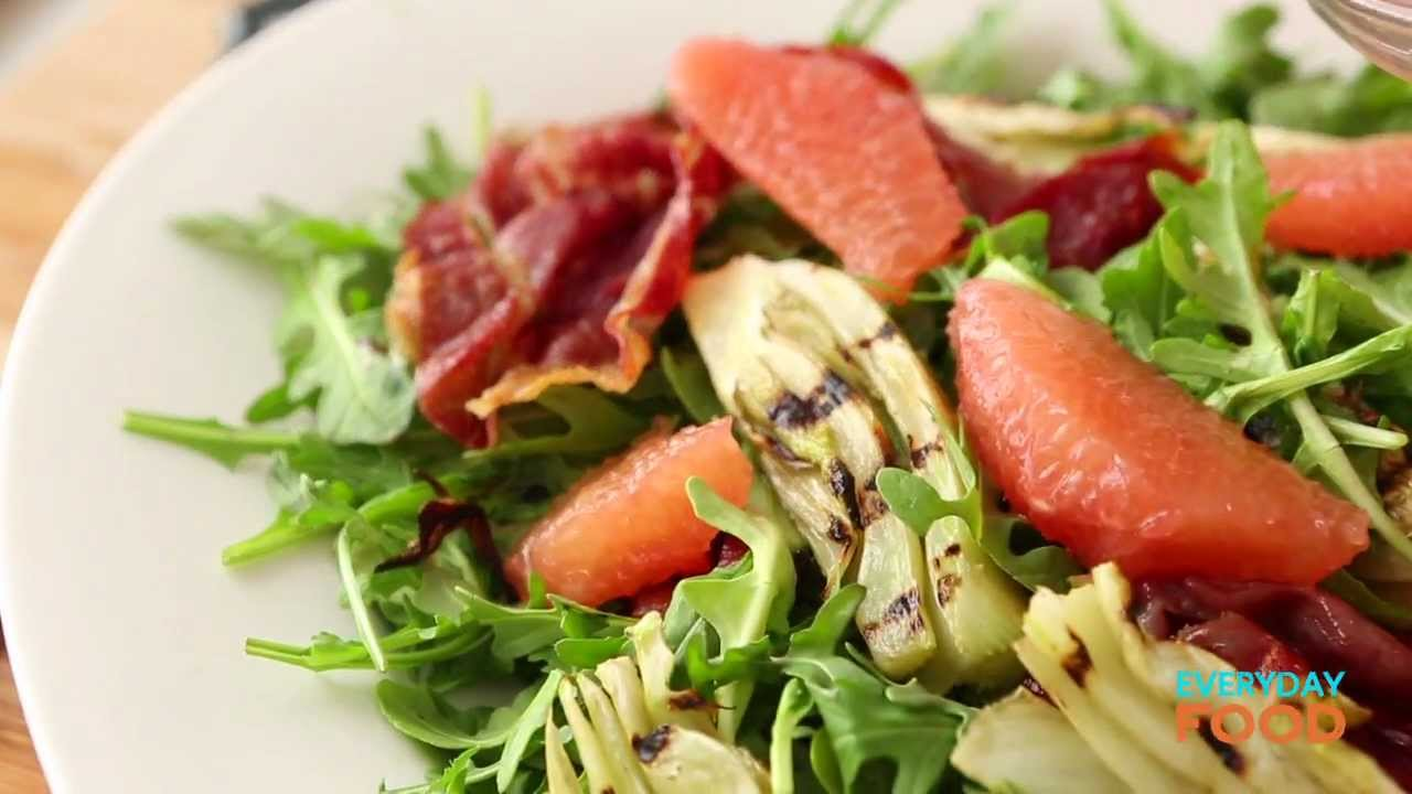 Grapefruit and Grilled Fennel Salad | Everyday Food with Sarah Carey ...