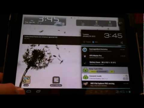 CyanogenMod 9 Alpha Tips & fixes for HP Touchpad running ICS Android