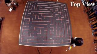 Micromouse Green Giant 5.10V run a 2016 California Micromouse Competition(CAMM) on May 15th 2016