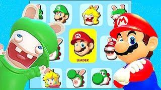 Mario + Rabbids Kingdom Battle All Characters Unlocked And Luigi, Rabbid Mario, Rabbid Luigi + More