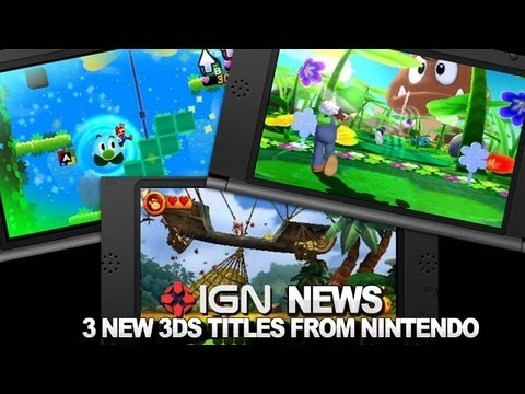 IGN News - 3 New 3DS Games from Nintendo