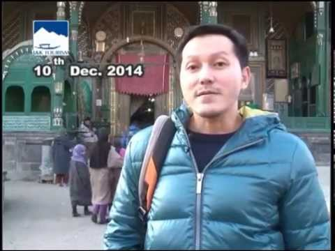 Kief from Bangkok, Thailand visiting Shah i Hamadan Shrine in old City