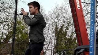 Watch Joe Mcelderry Fahrenheit video