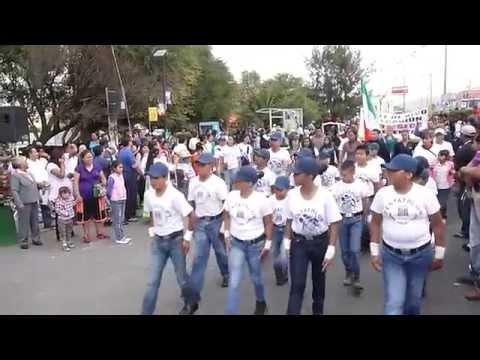 Desfile Pentathlon Valle de Chalco Parte 2