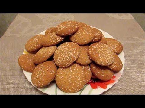 Печенье на рассоле с кунжутом. Очень простое и вкусное!
