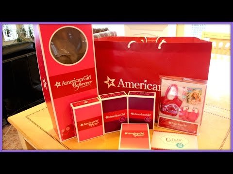 Opening American Girl Doll Haul From Agp Seattle!!