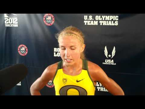 Jordan Hasay After Not Making 1500m Final 2012 US Olympic Track Trials