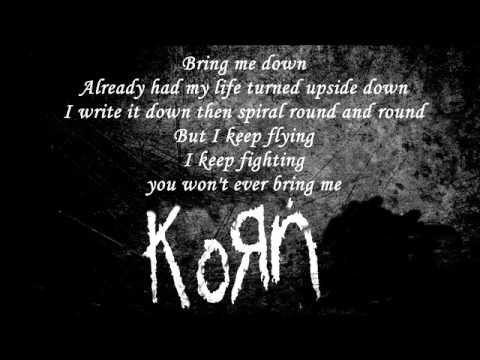 Korn Hater Lyrics Youtube