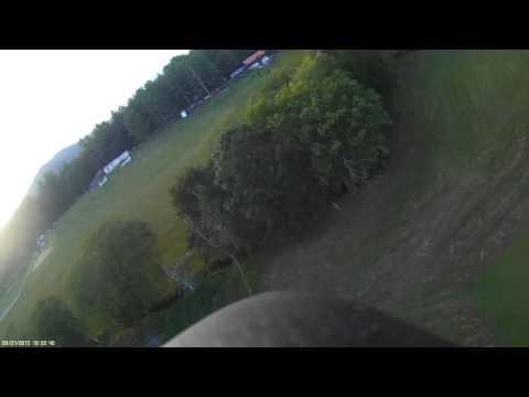 Hobbyking Super G Autogyro aerobatics with crash