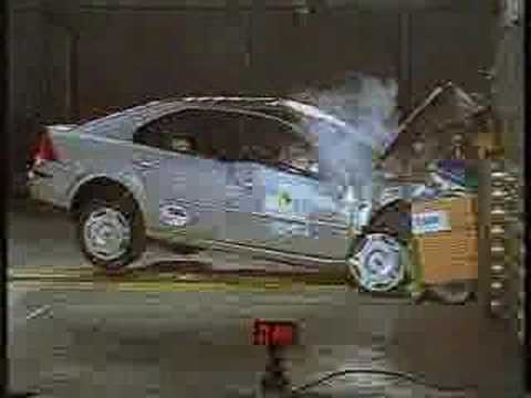 ford focus crash test. Crash Test of Ford Mondeo EuroNcap