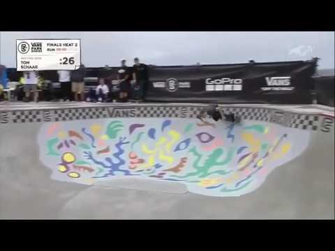 @tomschaar's run from @vansparkseries 🇦🇺 | Shralpin Skateboarding