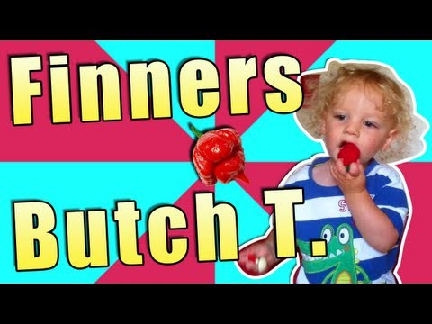 Road To The Butch T - Toddler Eats A Trinidad Scorpion Butch T. 1,463,700 SHU HD Chilli Pepper