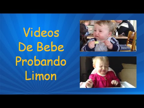 Videos De Bebe Probando Limon | Videos Bebes Graciosos