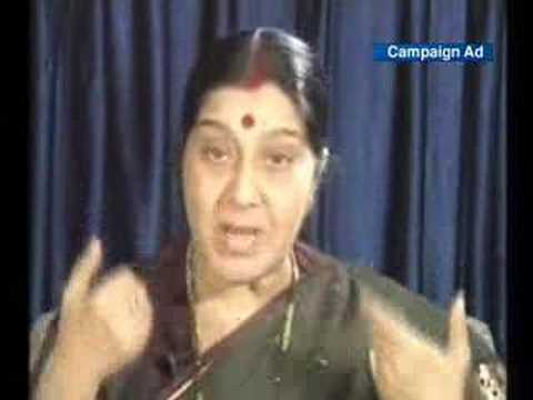 Sushma swaraj speaking in fluent Kannada