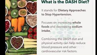 Understanding the DASH Diet Lunch n Learn