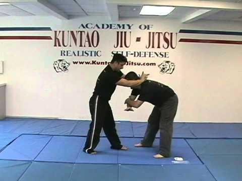 Kuntao Jiu-Jitsu Instructional Training Videos: Front Choke Defense Image 1