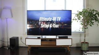 Ultimate 4K TV Setup & Tech Tour! 2018
