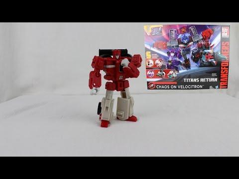Nemesis Reviews Transformers Titans Return Chaos on Velocitron- Fastclash