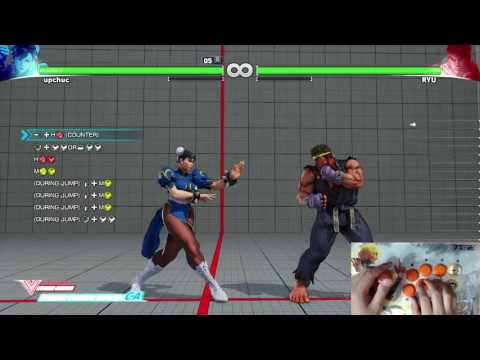The 2nd volume of Street Fighter V trials for Chun-Li. Performed by Chupri with fightstick cam and inputs shown. This is available after the Ed patch (5/30/17). Comments and feedback are welcomed!...