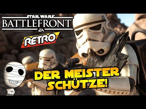 Der Meister Scharfschütze! - Star Wars Battlefront Retro #167 - Gameplay HD deutsch Tombie