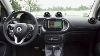 The new smart BRABUS fortwo Cabrio tailor made atomic yellow Interior Design Trailer | AutoMotoTV