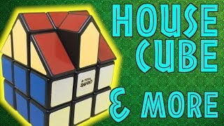 3x3 House puzzles and more
